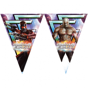 1 Triangle Flag banner ( 9 flags ) - Guardians of the Galaxy