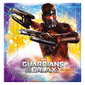 20 Two-ply Paper Napkins 33x33cm - Guardians of the Galaxy