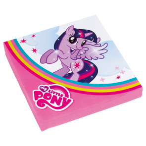 20 Two-ply Paper Napkins 33x33cm - My Little Pony