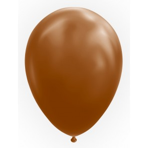 "50 Balloons 12"" brown"