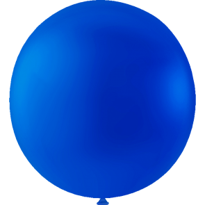 10 Mega balloons, 36'' - royal blue