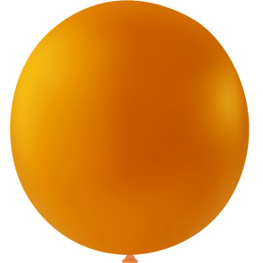 10 Mega balloons, 36'' - orange (crystal)