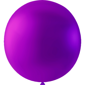 10 Mega balloons, 36'' - purple (crystal)