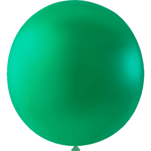 10 Mega balloons, 36'' - emerald green (crystal)
