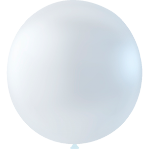 10 Mega balloons, 36'' - clear (transparent)