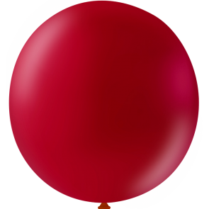 10 Mega balloons, 36'' - cherry red (crystal)