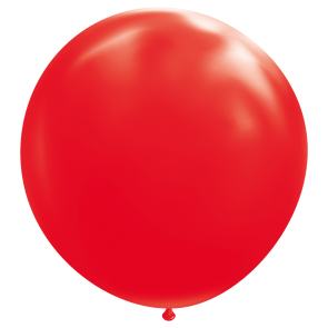"1 Giant balloon 72"" red"