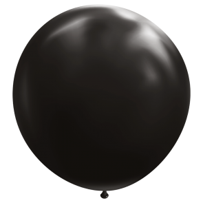 "1 Giant balloon 72"" black"
