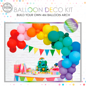 PRE-ORDER Balloon deco kit - rainbow