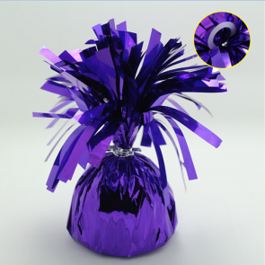 Foil balloonweight - purple