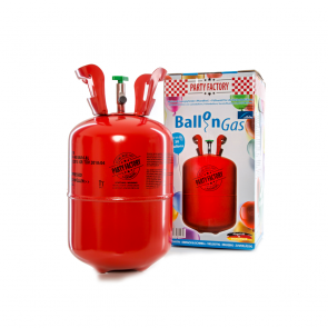 Helium cylinder for 30 balloon