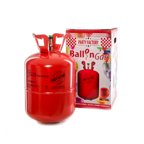 Helium cylinder for 50 balloons
