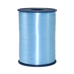 Ribbon 250m x 10mm Light blue