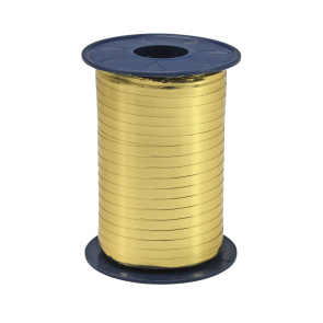Ribbon 250m x 5mm Metallic - gold