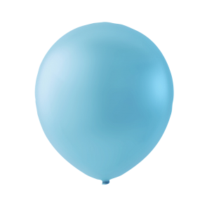 100 balloons, 5'' - light blue