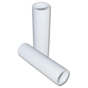 Streamers 20x 4m Flameproof - white