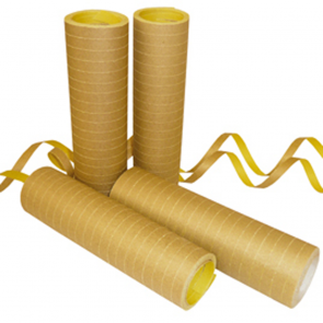 Streamers 20x 4m Flameproof - gold