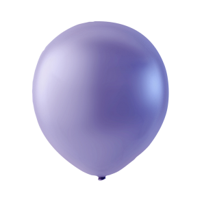100 balloons, 5'' - pearl violet