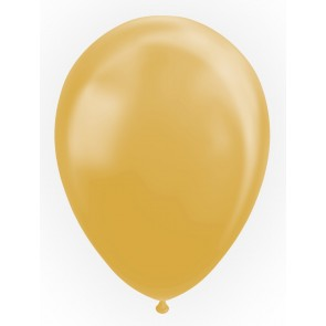 "25 Balloons 12"" metallic gold"