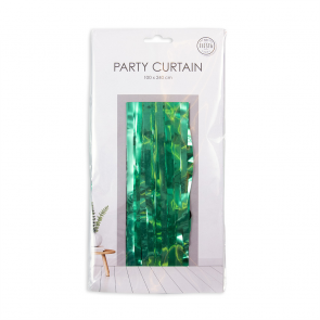Party curtain 100x240cm - Flame Retardent - green