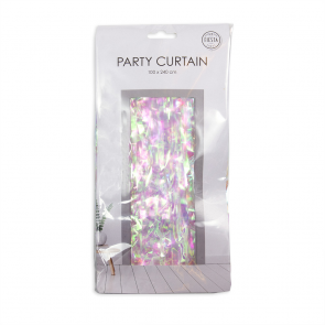 Party curtain 100x240cm - Flame Retardent - irredescent