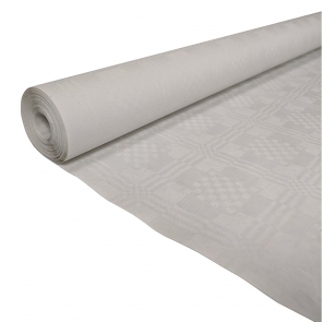 Paper tablecover 1,19x8m white