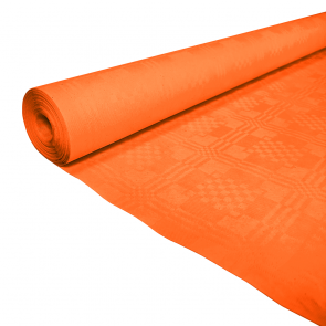 Paper tablecover 1,19x8m orange