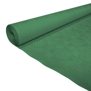 Paper tablecover 1,19x8m dark green