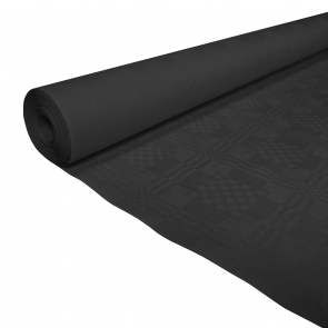 Paper tablecover 1,19x8m black