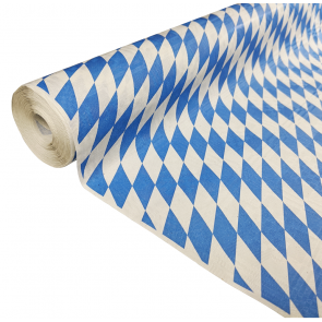Paper tablecover 1,00x8m bavaria