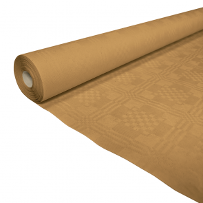Paper tablecover 1,19x6m gold
