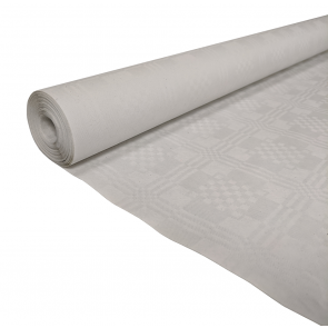 Paper tablecover 1,00x10m white