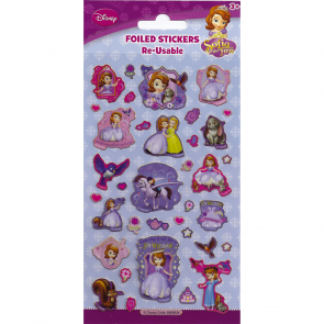 Small Foil Stickers - Sofia The First