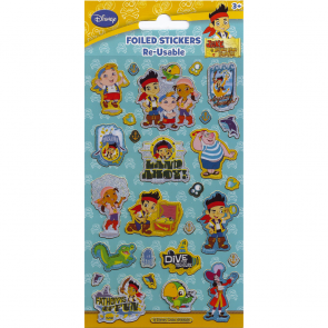 Small Foil Stickers - Jake & the Neverland Pirates