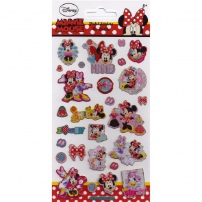 Small Foil Stickers - Minnie Mouse