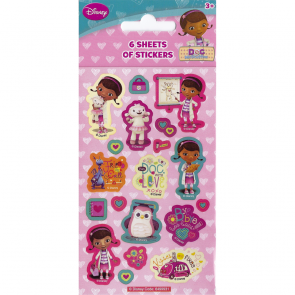 Party Stickers - 6 sheets - Doc McStuffins