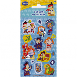 Party Stickers - 6 sheets - Jake & the Neverland Pirates