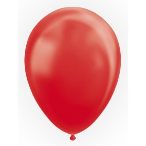 "50 Balloons 12"" metallic red"