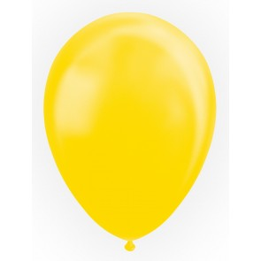 "25 Balloons 12"" pearl yellow"