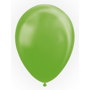"25 Balloons 12"" pearl lime green"