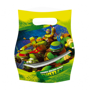 6 Party Bags - Ninja Turtles
