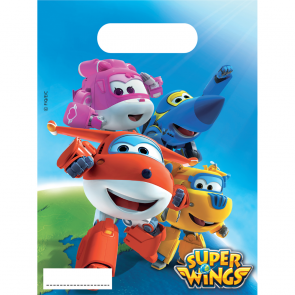 6 Party Bags - Super Wings