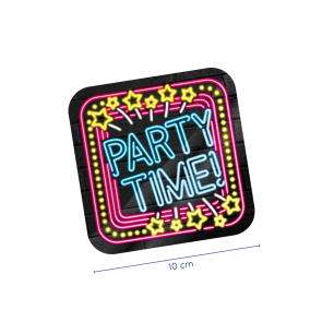 Neon Coasters - Party time!