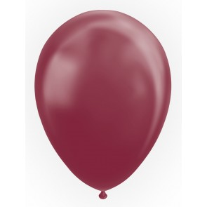 "50 Balloons 12"" metallic burgundy"