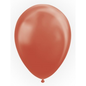 "50 Balloons 12"" metallic copper"