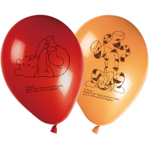 8 11 inches Printed Balloons - Winnie Alphabet