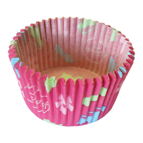 24 Paper Cupcake Cases - Princess Dreaming