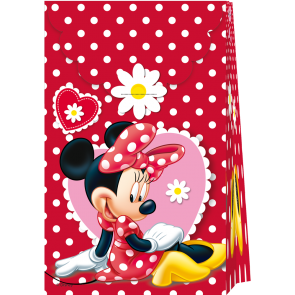 6 Paper Bags  - Minnie Mouse