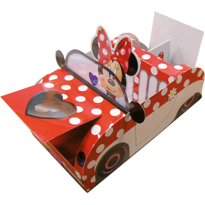 1 Food Tray - Minnie Mouse