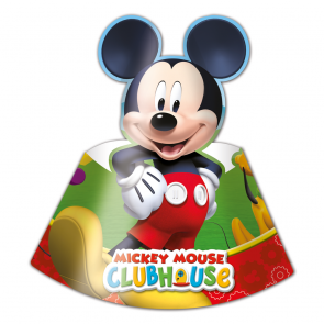6 Die-cut Hats - Playful Mickey